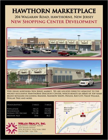 HAWTHORN MARKETPLACE - Welco Realty, Inc