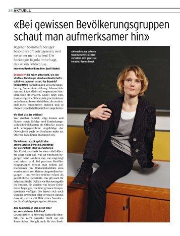 BEO Sozialhilfemissbrauch + Interview - Bernhard Raos