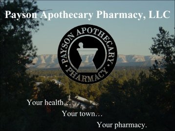 Payson Apothecary Pharmacy, LLC