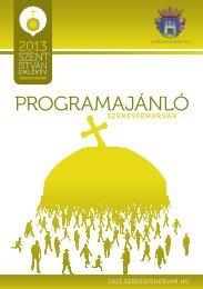 programajánló - Turizmus - Székesfehérvár