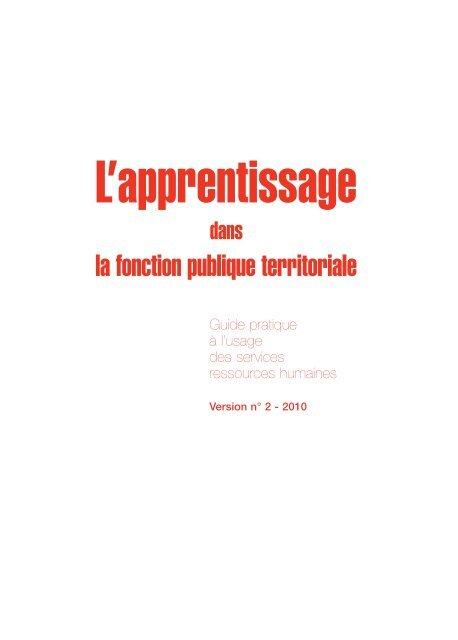 2b122bb3d79 Guide pratique de l apprentissage dans la fonction publique - CFA Sup