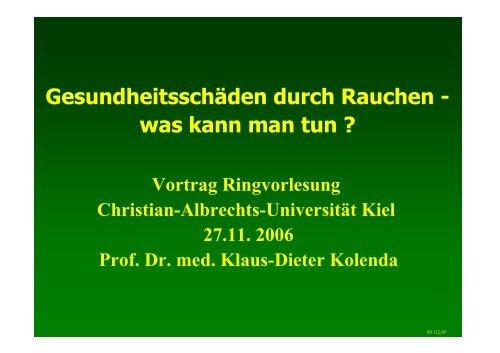 Gesundheitsschäden durch Rauchen - lebensstilaenderung.de
