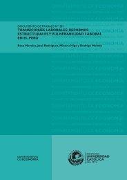 Transiciones laborales, reformas estructurales y vulnerabilidad ...