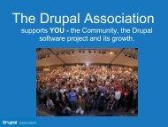 Slides - Drupal Association