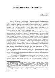 Consulter l'article - Livres et Hommes du livre en Lorraine