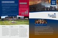 2010 Annual Report - Bowman County Development Corporation