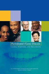 Periodontal (Gum) Disease - National Institute of Dental and ...