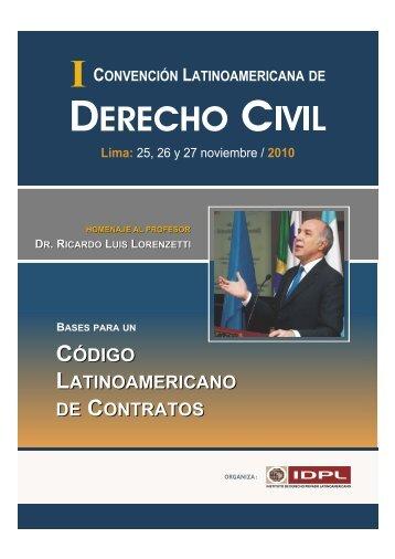 DERECHO CIVIL - Instituto Peruano de Arbitraje