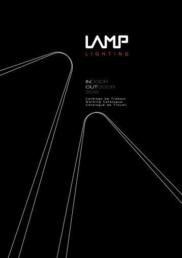 Catálogo de Trabajo 2013 - Lamp