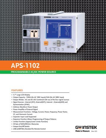 Brochure & Technical Specifications