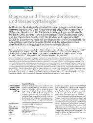 Leitlinie Insektengiftallergie 2011 - ÖGAI