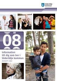 Informationsbladet augusti 2012 - Södertälje kommun