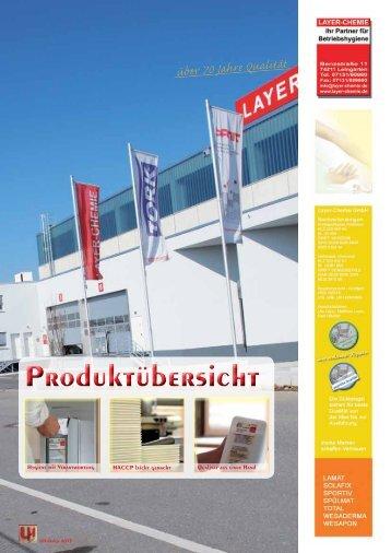 finden Sie den aktuellen Katalog 2013 (PDF) - layer-chemie gmbh