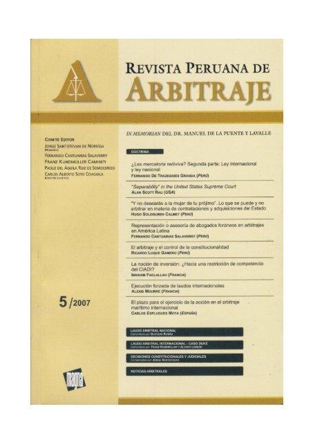 5 Instituto Peruano De Arbitraje