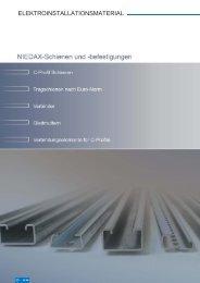 BEFESTIGUNGEN - Niedax