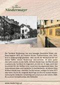 135 Jahre Holz in seiner schönsten Form ... - Tischlerei Niedermayr - Seite 2
