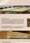 135 Jahre Holz in seiner schönsten Form ... - Tischlerei Niedermayr - Seite 6