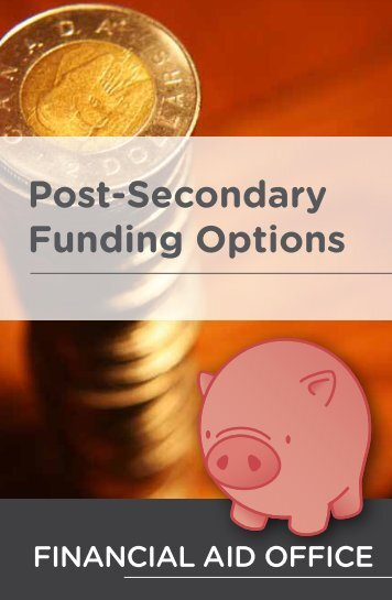 Funding Options Booklet - University of Alberta Students' Union