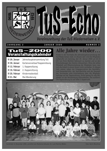 TUS-Echo die 3. - TuS Niederneisen e.V.