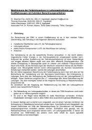 Bestimmung der Feldeinkopplung in Leitungsstrukturen von ...