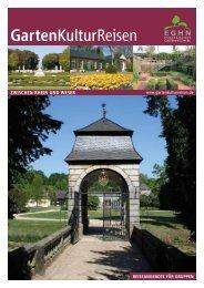 Katalog Gruppenreisen - GartenKulturReisen