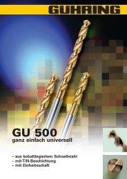 GU 500 - Gühring oHG