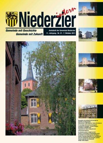Notdienste - Gemeinde Niederzier