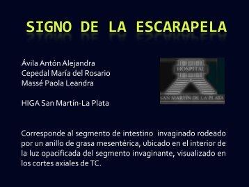 SIGNO DE LA ESCARAPELA - Congreso SORDIC