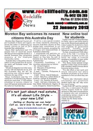 2013 01 22 Edition 381.pmd - Redcliffe City News