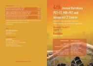 Preliminar Program (PDF) - ESR - Congress Calendar