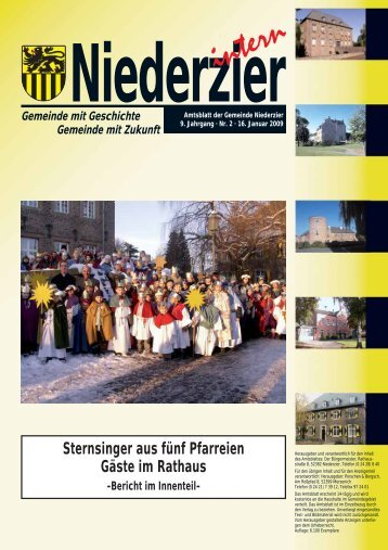 Sternsinger aus fünf Pfarreien Gäste im Rathaus - Gemeinde ...