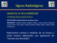 Signos Radiológicos - Congreso SORDIC