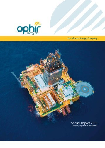 Annual Report 2010 - Ophir Energy