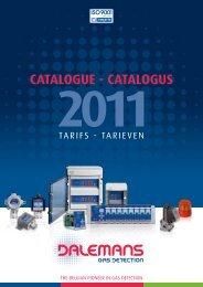 CATALOGUE - CATALOGUS - Dalemans Gas Detection