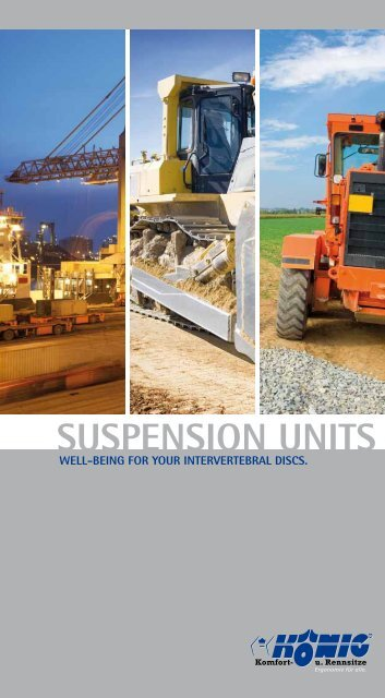 SUSPENSION UNITS