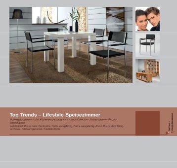 Top Trends – Lifestyle Speisezimmer - Niehoff