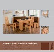 Eckbankgruppen – modisch und komfortabel - Niehoff