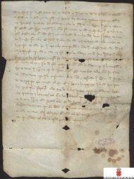 Carta abierta de Alfonso X sobre acuñación de moneda.
