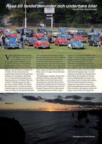 Resa till landet nerunder och underbara bilar - Austin Healey Club ...
