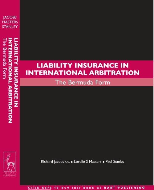 liability insurance in international arbitration the bermuda form