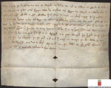 Carta abierta de Alfonso X a los castelleros del Reino de Murcia ...