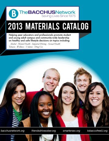 2013 Materials Catalog - Bacchus Network Store