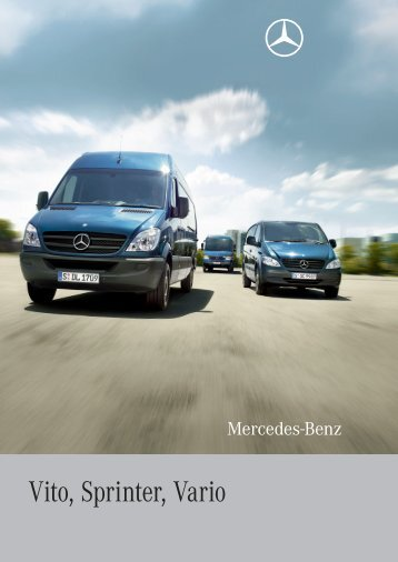Vito, Sprinter, Vario - Mercedes-Benz