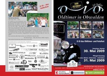 30. Mai 2009 31. Mai 2009 10 Jahre - O-iO