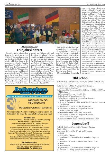 Wachtendonker Landpartie am 24. Mai - Wachtendonk aktuell