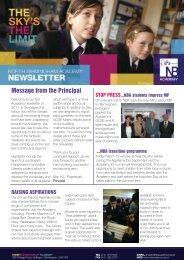 NBA Newsletter - Feb 2011 - North Birmingham Academy