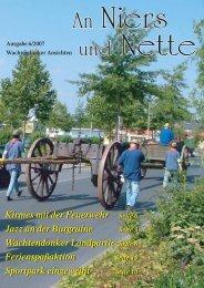 Ausgabe 6/2007 - Wachtendonk aktuell