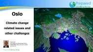 Oslo Climate change related issues and other challenges - Stream
