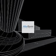 Architektur bestens in Form. - Aluform System GmbH & Co. KG