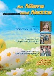 Frühlings- und Ostermarkt Erfolgreiche Pflanzaktion vom Einkehrtag ...